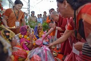 Мадхяа Прадеш дахь айлчлал. Энэтхэг, Мадхяа Прадеш, Бхопал. 2017.03.19.