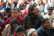 Некоторые из слушателей во время учений Его Святейшества Далай-ламы по текстам Джатак. Дхарамсала, Индия. 12 марта 2017 г. Фото: Тензин Чойджор (офис ЕСДЛ)