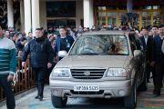 Его Святейшество Далай-лама направляется в свою резиденцию по завершении посвящения Авалокитешвары. Дхарамсала, Индия. 14 марта 2017 г. Фото: Тензин Чойджор (офис ЕСДЛ)