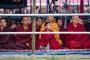 Монахи, собравшиеся на учения Его Святейшества Далай-ламы в Парке Будды. Бомдила, штат Аруначал-Прадеш, Индия. 5 апреля 2017 г. Фото: Тензин Чойджор (офис ЕСДЛ)