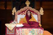 Его Святейшество Далай-лама дарует учения в Парке Будды. Бомдила, штат Аруначал-Прадеш, Индия. 5 апреля 2017 г. Фото: Тензин Чойджор (офис ЕСДЛ)