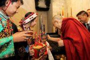 Дээрхийн Гэгээнтэн Далай Лам Миннеаполис хот дахь төвөд иргэдтэй уулзаж номын айлдвар айлдав.