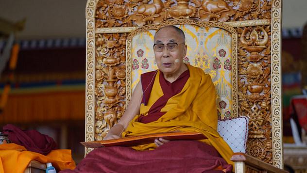 В Ле прошел второй день учений Далай-ламы по поэме Шантидевы «Путь бодхисаттвы»