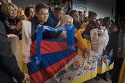 Дээрхийн Гэгээнтэн Далай Лам Латвийн Рига хотод хүрэлцэн ирэв.