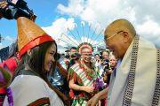 Дээрхийн Гэгээнтэн Далай Лам Манипурт айлчилж байна