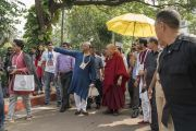 Дээрхийн Гэгээнтэн Далай Лам уг кампусыг үндэслэгч К.Ж Сомаяагийн ач хүү Самир Сомаяагийн хамт. Энэтхэг, Мумбай. 2017.12.08. Гэрэл зургийг Лувсан Цэрин