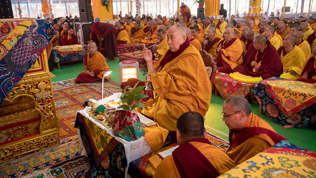 Далай-лама даровал посвящение Ямантаки 13-ти божеств