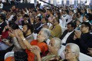Гости церемонии открытия Второго национального конгресса учителей в Технологическом институте Махараштры. Пуна, штат Махараштра, Индия. 10 января 2018 г. Фото: Лобсанг Церинг.