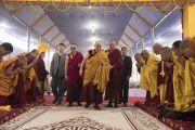 Номын айлдварын гурав дахь өдөр-Намжал дацан, Монголын Ламын Гэгээн хувилгаан нарын хамтарсан Даншүг өргөх ёслол