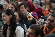 Некоторые из более чем 600 паломников, прибывших из 50 стран мира на встречу с Его Святейшеством Далай-ламой. Дхарамсала, Индия. 5 марта 2018 г. Фото: Тензин Чойджор.