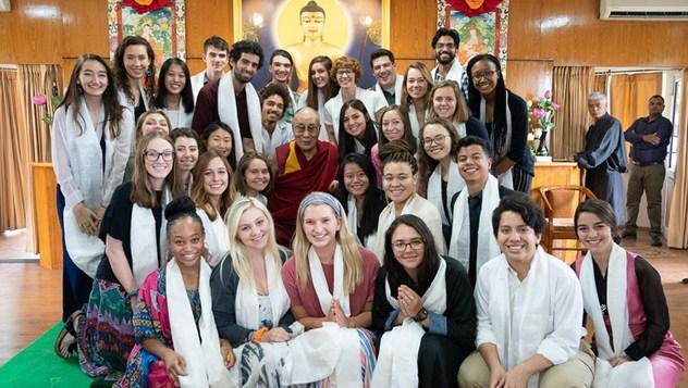 АНУ, Энэтхэг, Төвөдийн багш, оюутнуудтай уулзлаа