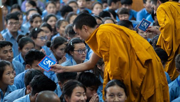О третьем дне  учений Его Святейшества Далай-ламы для школьников и студентов в Дхарамсале