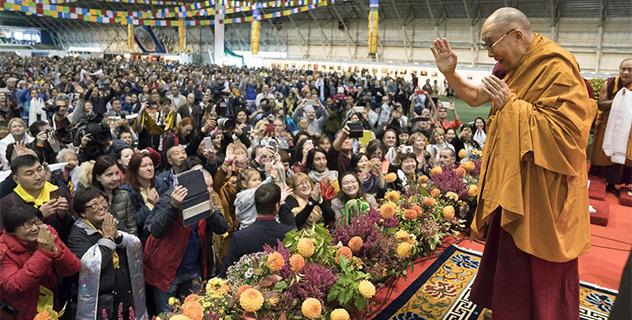 Учения Его Святейшества Далай-ламы в Риге. Запись прямой трансляции