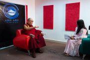"""Канград айлчлан сэтгүүлчтэй уулзаж, """"Шри Балажи медиа инновац""""-ын 3 жилийн ойд оролцов"""