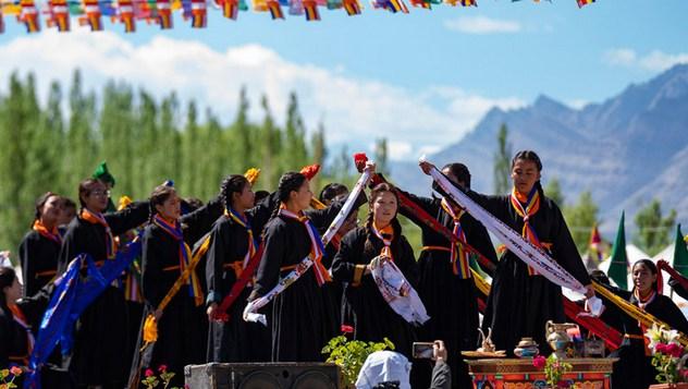 Празднование 83-летия Его Святейшества Далай-ламы в Ладаке